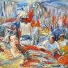 Горбачев С.Д. «Рыбный базар» из серии «Корея»