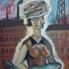 Рюрик Тушкин. «Женщина с рыбой на голове»