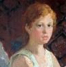 В. Медведский. «Портрет дочери Ирины»