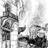 Дриго Е.Ю. «Мойка», иллюстрация к роману в стихах «Борх» неизвестного автора, подготовка рукописи: К.А. Холодилин