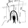 Евгения Дриго. «Искус» (иллюстрация к книге стихов  питерского поэта Стефана «В белом свете»)