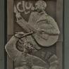 Анастасия Ерахтина. Элемент облицовки дверного проёма «Джаз» (фрагмент)