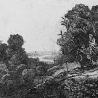 Мария Брик. Копия работы Рембрандта «Бегство в Египет»