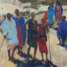 Мария Благодарскиx. «Композиция. Африка»
