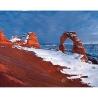 Тарасенко Г.О. «Деликатная арка в снегу», Национальный парк Арки, штат Юта (США)