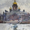 Владлен Камовский. «Исаакий. Ленинград»