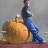 Маша Холмогорова. «Автопортрет с тыквой»