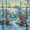 Косенко Виктория. «Листья под снегом»