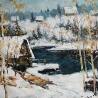 Косенко Виктория. «Зимой. Банька»