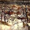 Осиповы Евгений и Оксана. «Вечер снежного дня»
