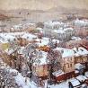 Осиповы Евгений и Оксана. «Снежное утро»