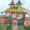 Щербакова Е. (11 лет) «Компактный домик»