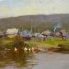 Евгений Пихтовников. «Перед дождём»