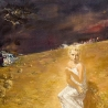 Подскочин Олег. Из диптиха «Молчание золотого поля — 2»