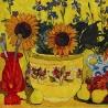 Ким Коваль. «Цветы на жёлтом»