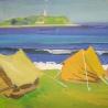 Евгений Корж. «Палатки у моря»